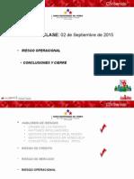 RIESGO Clase 03 Centro Formación BB 2015
