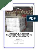 m.c.transporte Interno de Materiales y Distribucion de Productos Terminados