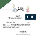 Diploma 1 Iunie