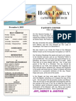 church bulletin 12-6-2015