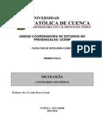 SICOLOGIA -CONTENIDOS