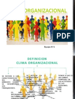 diapositivaclimaorganizacional