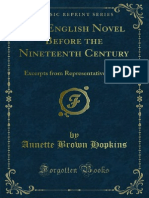 The English Novel Before the Nineteenth Century 1000036381 1