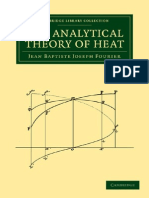 The Analytical Theory of Heat - Jean Baptiste Joseph Fourier