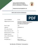 Programa Estadistica II 2015