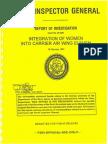 Naval Inspector General report Carrier Wing 7