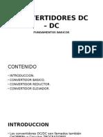 Convertidores Dc – Dc