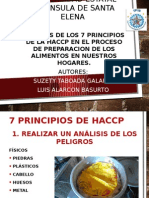 Aplicacion de Las Haccp