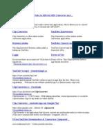 ClipConverter Link
