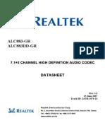 ALC883 DataSheet 1.3