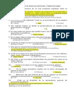 Cuestionario de Derecho Procesal Constitucional Ordinario