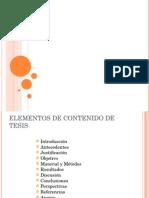 elementos de contenido de tesis.ppt
