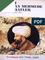 Fatih Sultan Mehmede Nasihatler (Turki)