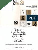 Speedball Textbook for Brush and Pen Lettering
