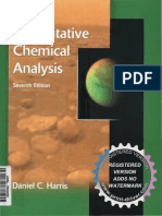 Quantitative Chemical Analysis Harris 7th Edition Pdf