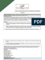 Ficha Base Servicio Social Universitario-RS Grupo Derecho