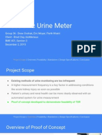 electronic urine meter final presentation