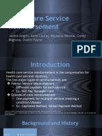 healthcare service reimbursement