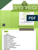 Sistema Operativo Android- Informatica- Catherine