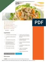 Ensalada Crujiente de Pollo y Naranjas _ Recetas de Nestlé _ ElMejorNido