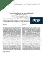 Efectos Del Cambio Climatico Sobre El Potencial Viticola de Baja California