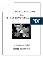 Dr Zainal Surat Penugasan Klinis Dan Rincian Kewenangan Klinis