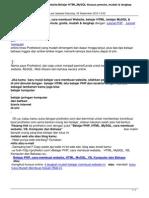 Belajar Phpcara Membuat Websitebelajar Htmlmysql Khusus Pemula Mudah a Lengkap