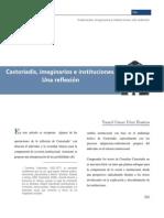 Dáz-Castoriadis, Imaginarios e Instituciones. Una Reflexión