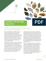 PEFC Week 2015 Newsletter