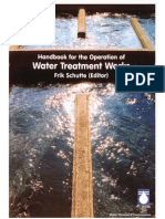 Handbook for the Operation of Water Treatment Works