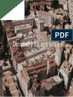 Densificación y Espacio Público