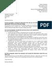 Letter of Aplication sample