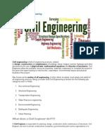 Definition of Civil Engineering
