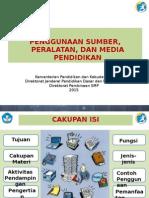 Sumber, Peralatan, Media