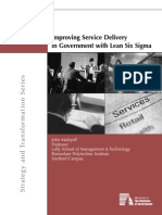 PMC-ImproveServiceDeliveryLeanSixSigmaReport