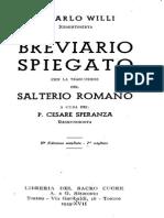 Willy, Salterio Del BREVIARIO in ITA-LAT 2 Pdfa