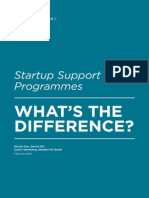 Startup Support Programmes - What's the Difference?