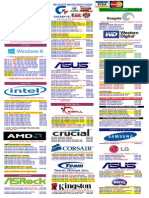 Pricelist 2015