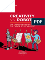 Creativity vs. Robots
