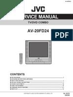 JVC AV-20FD24 Service Manual