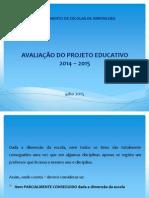 Avaliacao Do Projeto Educativo 2014-2015