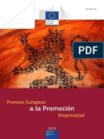 European Enterprise Promotion Awards Compendium 2015 in Spanish