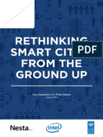 Rethinking Smart Cities From the Ground Up