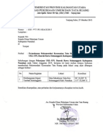 Surat Kesesuaian TR - DPU Nunukan