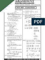 Ssc Mains (Maths) Mock Test-16 (Solution)