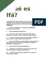 Articulos Sobre Ifa