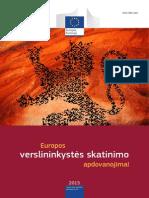 European Enterprise Promotion Awards Compendium 2015 in Lithuanian