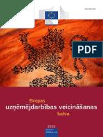 European Enterprise Promotion Awards Compendium 2015 in Latvian