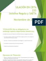 Presentación  PP Titulación Cbta 233