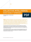 Collective Intelligence - How Does It Emerge?